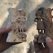 Ростовские археологи, разрывая древнее меотское захоронение, нашли подсвечники с Томом Сойером и Бекки Тэчер
