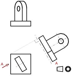 Dibujo tecnico tipos de planos for Plano de planta dibujo tecnico