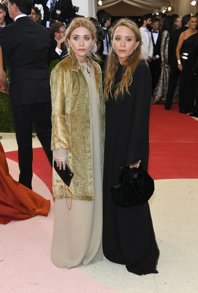 Mary-Kate and Ashley Olsen at the 2016 MET Gala