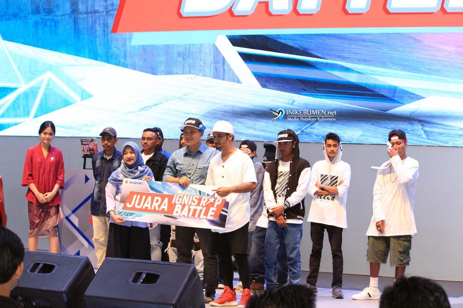 Final Ignis Rap Battle, Umumkan Pemenang dari Surabaya