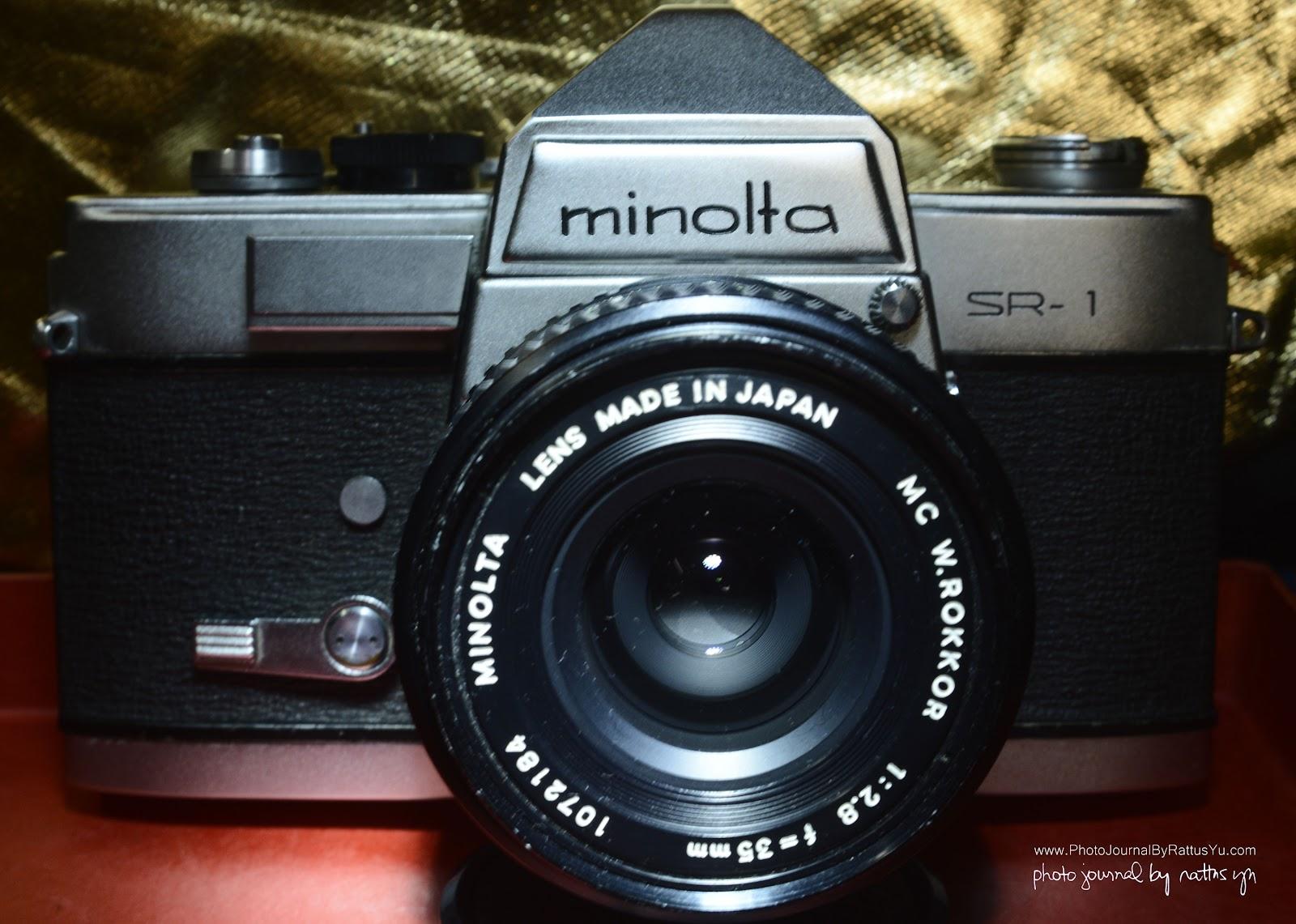 Minolta W.Rokkor MC 35mm f/2.8 + Minolta SR-1