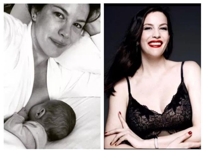 24 Pictures Of Famous Women With And Without Makeup - Liv Tyler