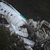 Las imágenes que dejó el accidente aéreo del equipo Brasileño