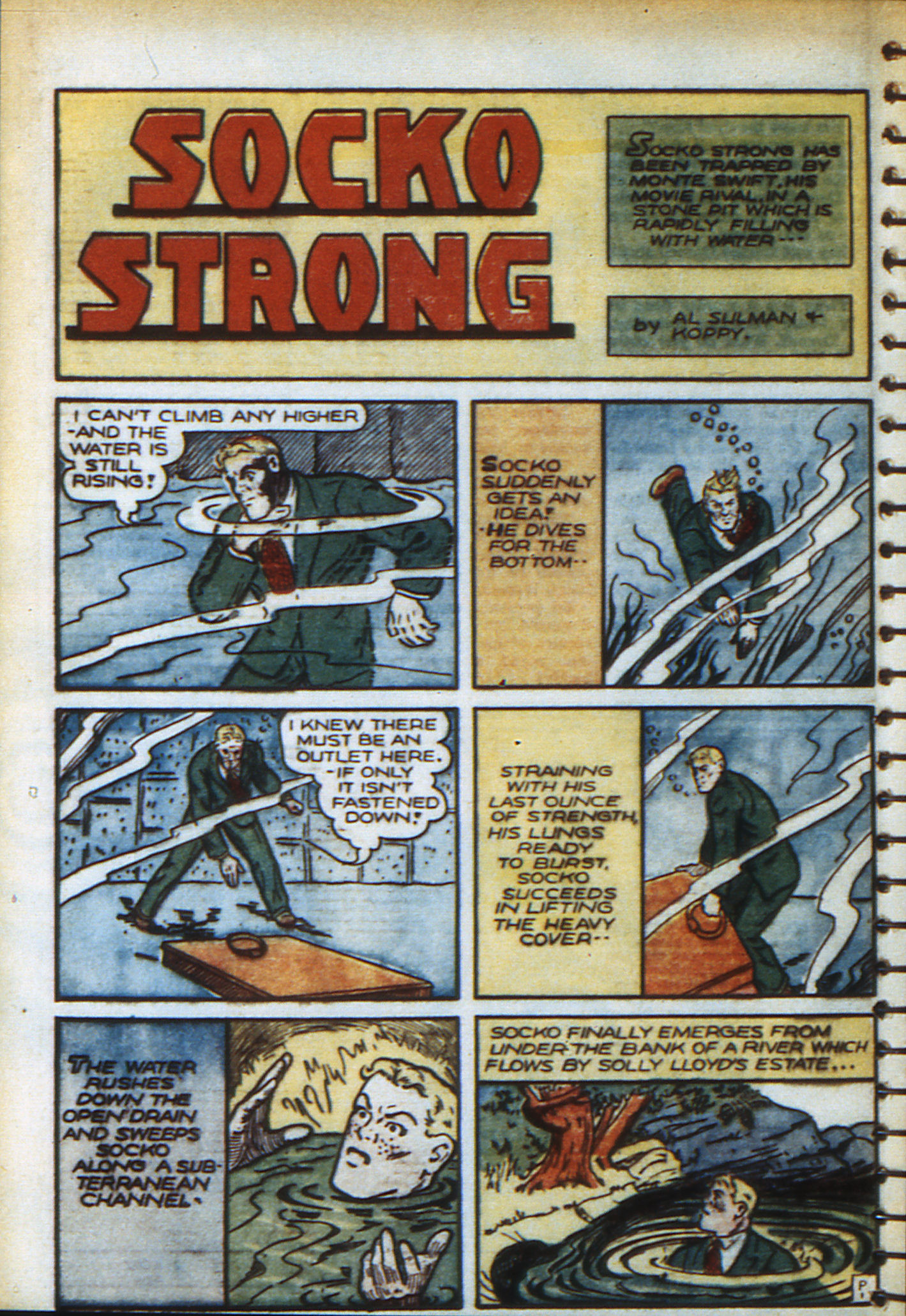 Read online Adventure Comics (1938) comic -  Issue #48 - 37