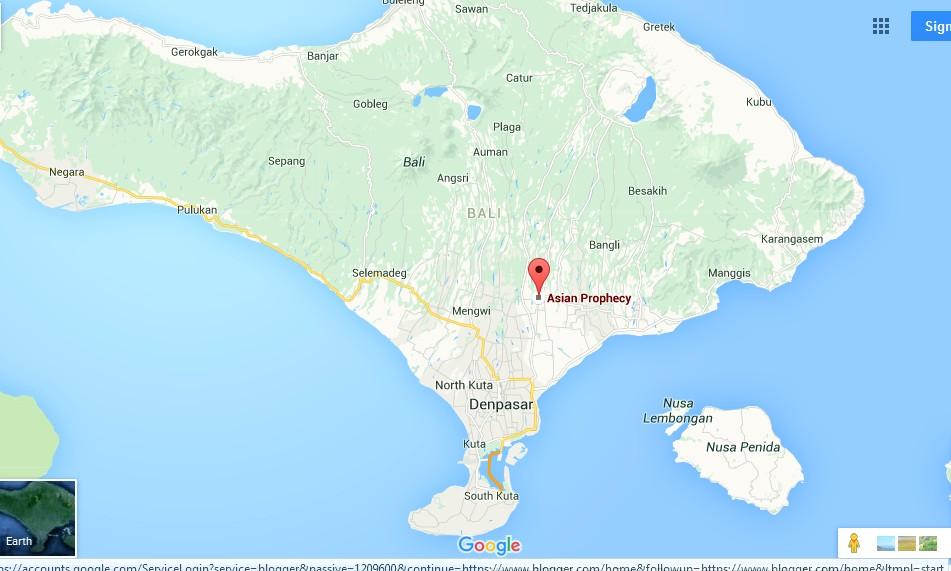 Map Of Asia Bali.Bali Map Asia Bali Indonesia Country Holidays Hongkong
