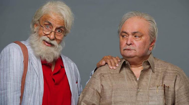 First Look Of 102 Not Out Released: Amitabh Plays Father To Rishi Kapoor