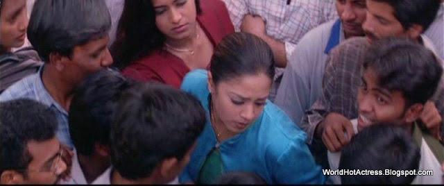 Indian Actress Tamil Actress Jyothika Hot Boobs Press And