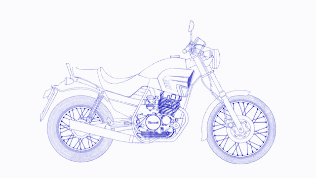 Blueprint Timori Cagiva Roadster 521