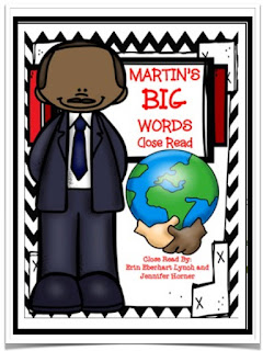 https://www.teacherspayteachers.com/Product/Close-Read-Martins-Big-Words-2247371