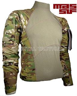 MASSIF ARMY COMBAT USGI FR FLAME RESISTANT MULTICAM OCP SHIRT