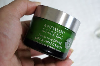 ANDALOU Naturals Hyaluronic DMAE Lift & Firm Cream, ANDALOU Naturals, Age Defying product, skincare, skin care, youthful skin, young skin, face cream for firming, better skin tips, fresh skin, beauty, beauty blog, best beauty blog, top beauty blog of Pakistan, red alice rao, redalicerao
