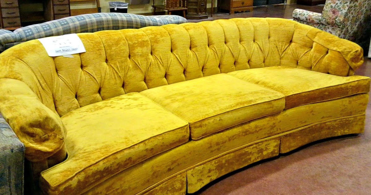 Thriftionary Golden Velvet Sofa Oufit Of The Day S