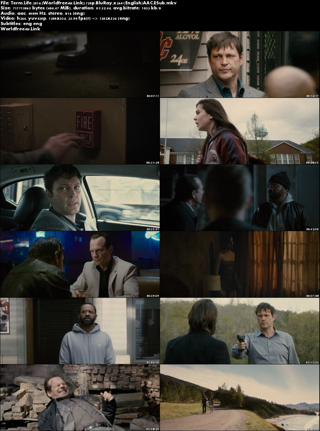 Screen Shoot of Term Life 2016 Full English Movie Download BRRip 720p ESub, term life full movie online free
