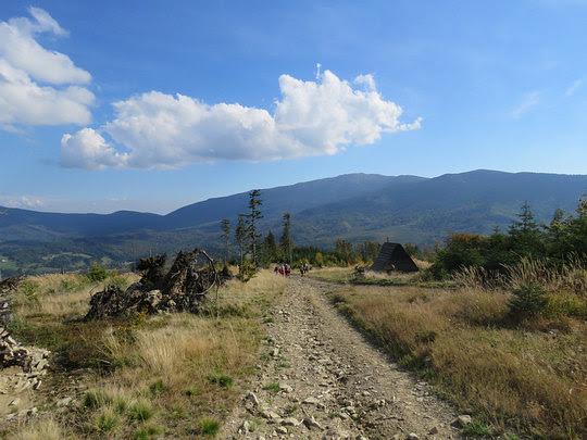 Panorama na Babią Górę.