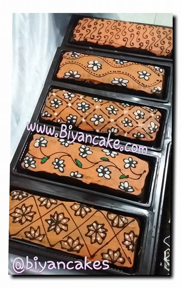 brownies batik orange ~ Ayu