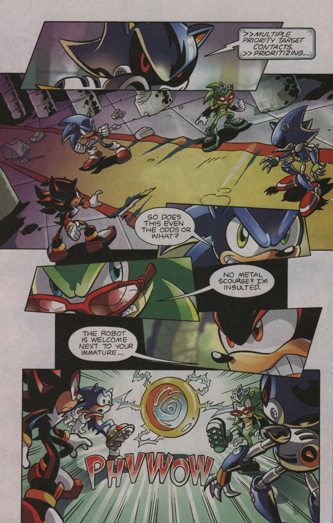 Read online Sonic The Hedgehog comic -  Issue #195 - 14