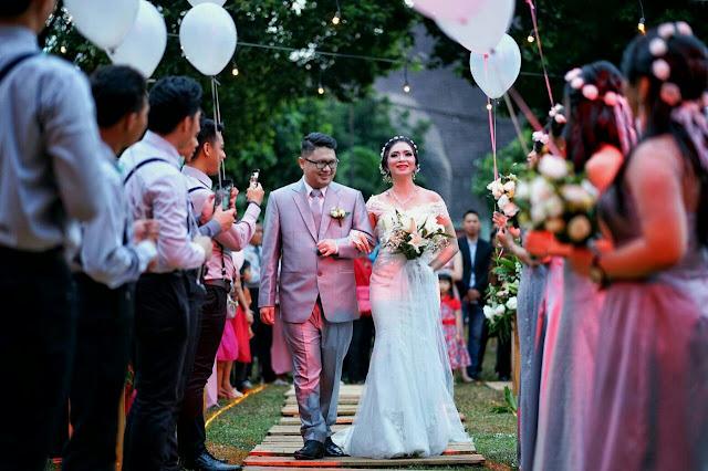 foto pernikahan denis dan vania jakarta