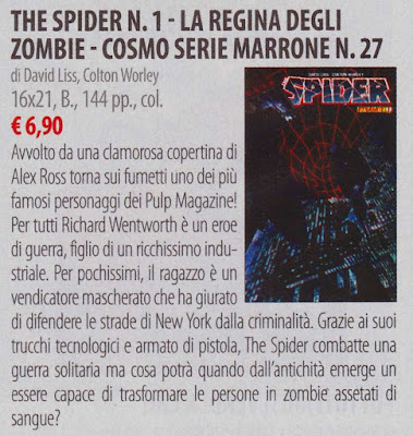 The Spider #1: La regina degli Zombie