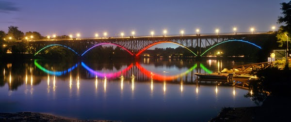 TIR bridge lighting