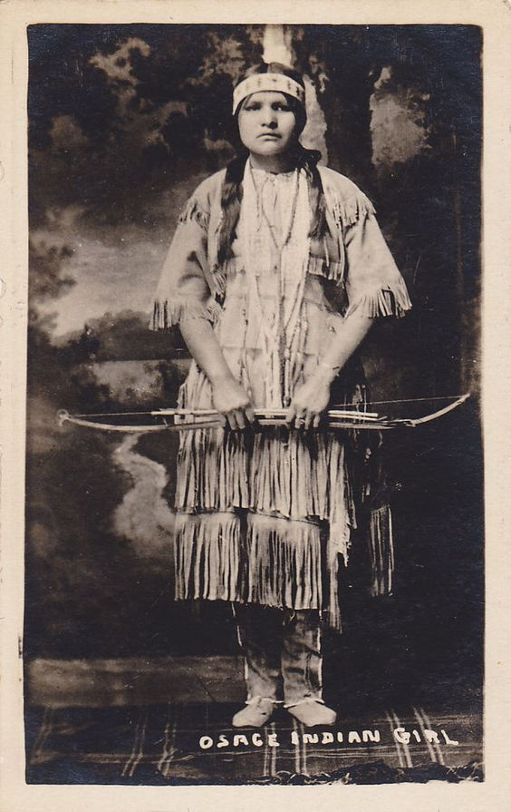 Native American Indian Pictures  Osage Indian Women Clothing 073d66451
