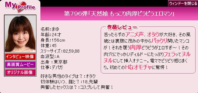 Pacific Girls No.796 Mayu 07150