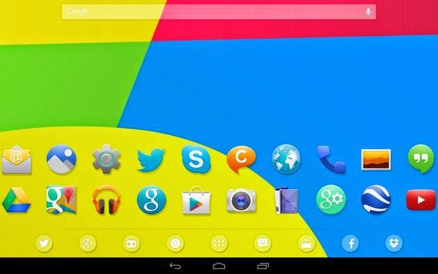 Android kitkat theme apk