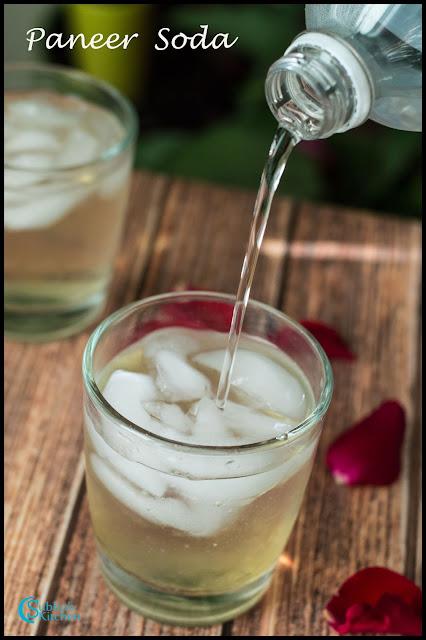Homemade Paneer Soda