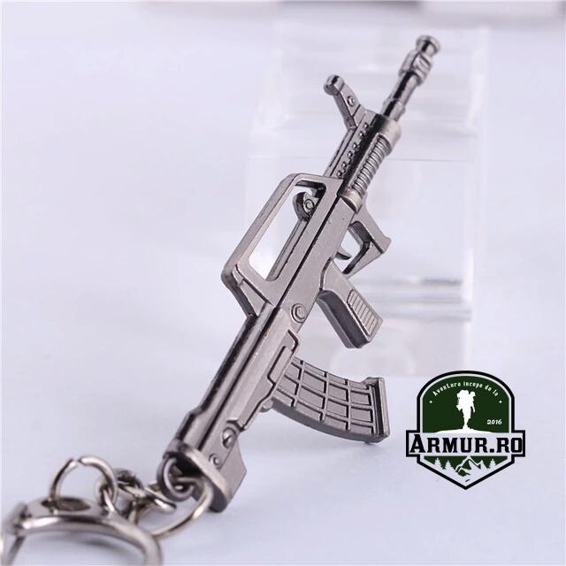 Breloc mitraliera replica airsoft