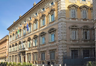Palazzo Madama is the seat of Italy's Senate