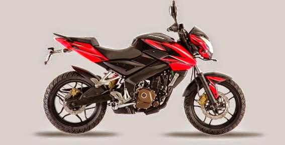 Bajaj Pulsar 200 NS Tosca Red