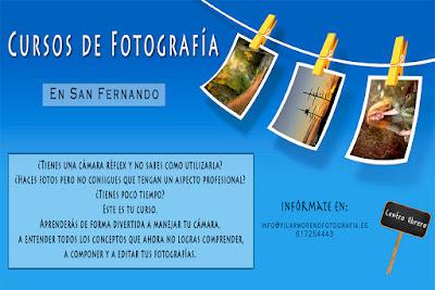 Cursos de Fotografía en San Fernando