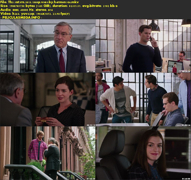 Descargar The Intern Subtitulado por MEGA.