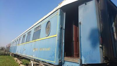 """Βανδάλισαν το βαγόνι του ιστορικού """"Orient Express"""" στο Σιδηροδρομικό Μουσείο Θεσσαλονίκης"""