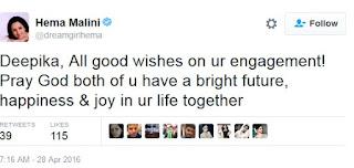 Hema Malini twitter