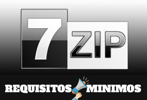 Requisitos mínimos para instalar 7-Zip 16.04.