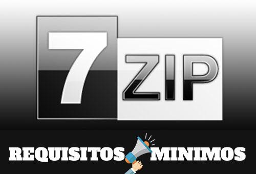 Requisitos mínimos para instalar 7-Zip 16.04.