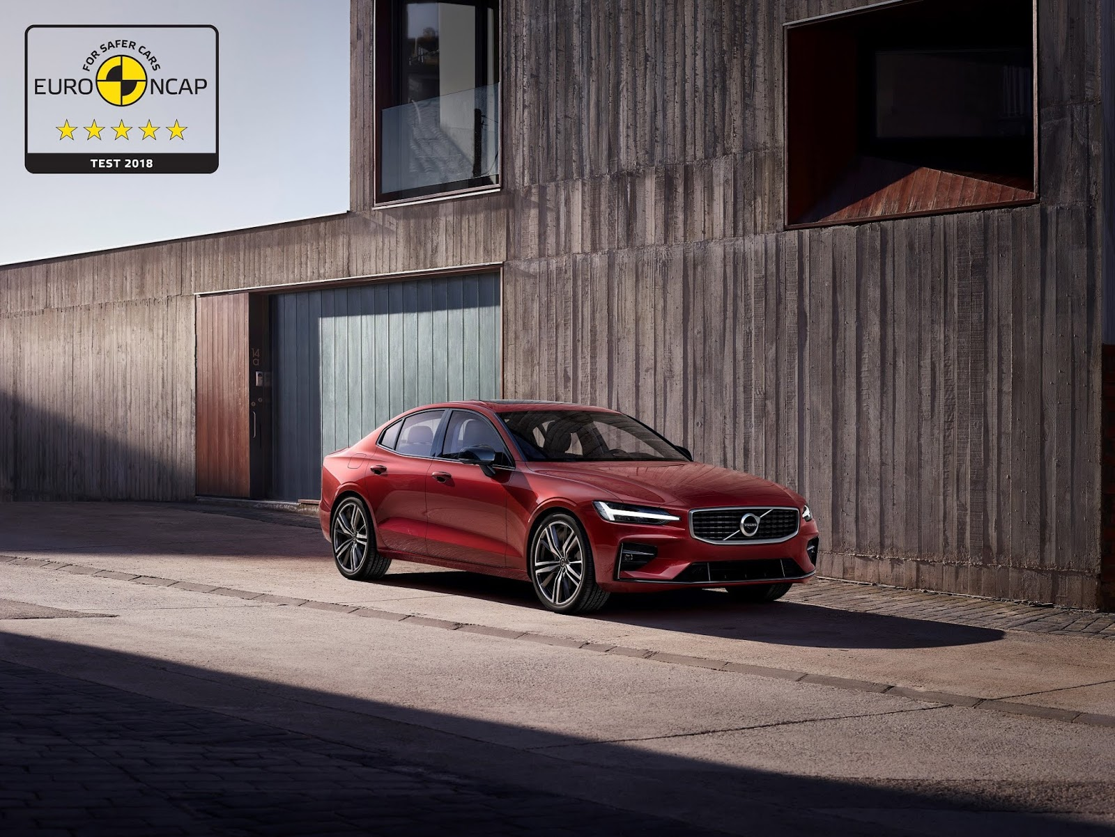 Τα S60 και V60 συνεχίζουν το σερί των 5 αστέρων για τη Volvo στις δοκιμές ασφαλείας του EuroNCAP