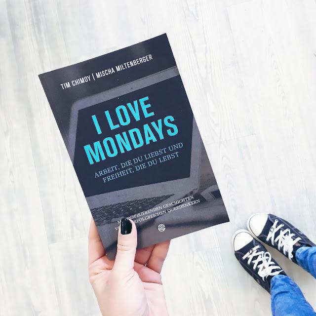 GrinseStern, Buchtipp, I love mondays, Buchempfehlung, Motivationsbuch