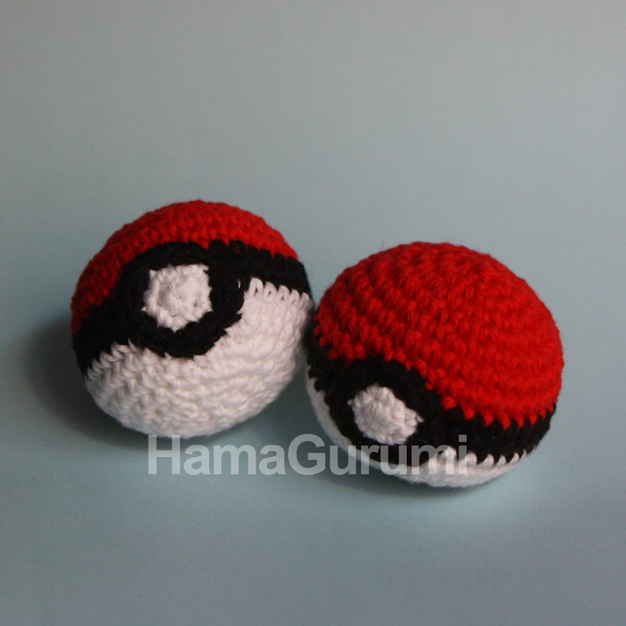 Pokeball, en Amigurumi