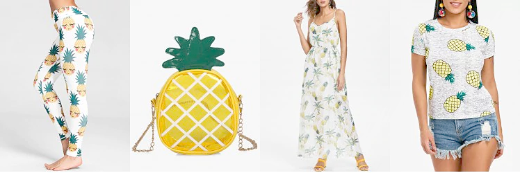 Pineapple Pattern Rosegal