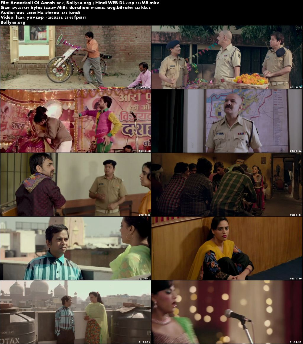 Anaarkali Of Aarah 2017 WEB-DL 300MB Full Hindi Movie Download 480p