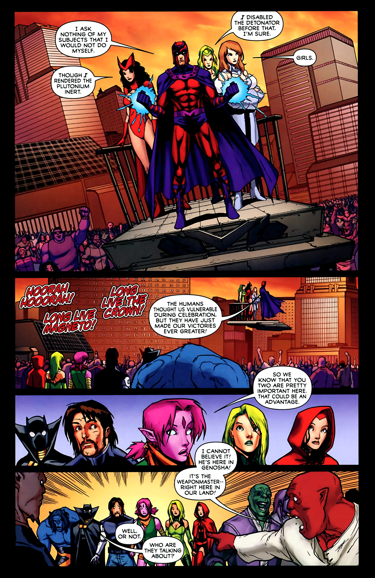 Read online Exiles (2009) comic -  Issue #2 - 7
