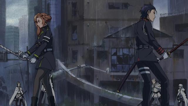 جميع حلقات انمى Owari no Seraph الموسم الأول بلوراي BluRay مترجم أونلاين كامل تحميل و مشاهدة