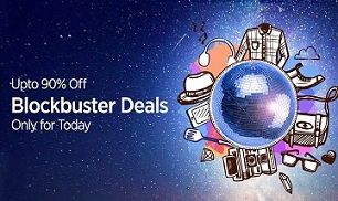 Paytm Blockbuster Deal on Fashion / Elecronics / Home & Kitchen / Mobile & Accessories – Upto 90% Discount + Extra Paytm Cash