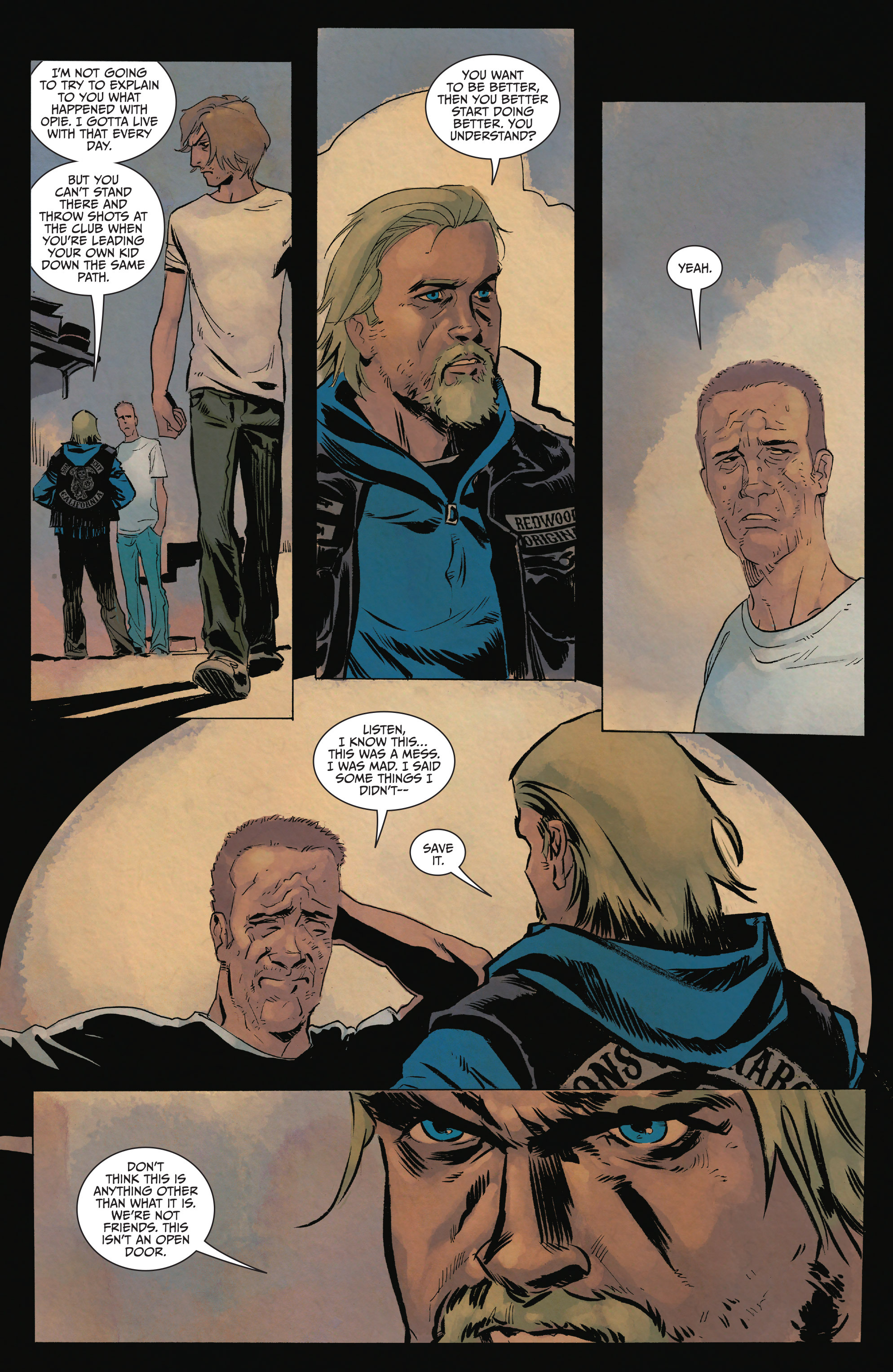Read online Sons of Anarchy comic -  Issue #15 - 22