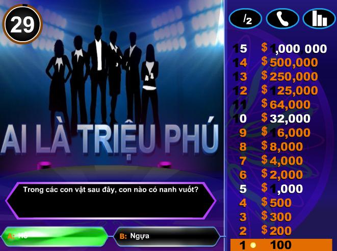 tai game ai la trieu phu mien phi cho dien thoai