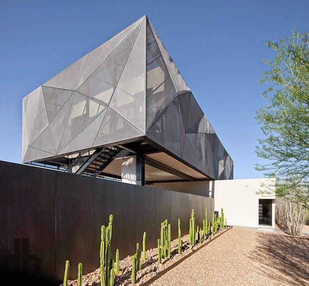 Casa en el desierto de nevada assemblagestudio - Paginas de arquitectura y diseno ...