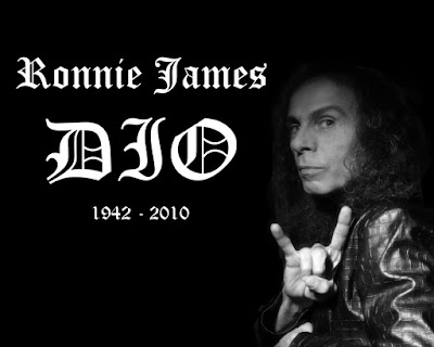 Muere Ronnie James Dio