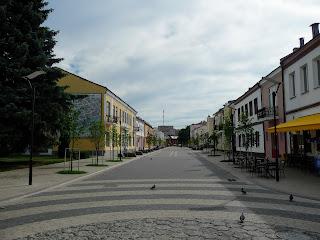 Пинск. Ул. Ленина. Пешеходная зона