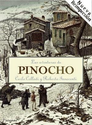 recomendación libros infantiles Dia del libro, pinocho
